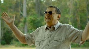 "Gene Jones is fantastic as ""Father"" in The Sacrament. He manages to pull off helpless and menacing at the same time."
